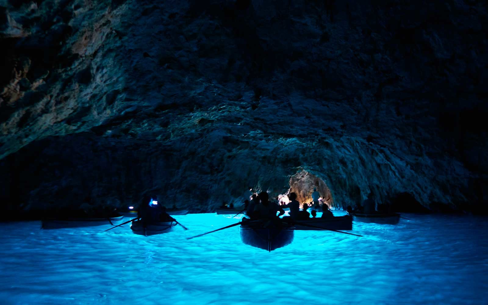 Blue Grotto, Capri, Naples, Italy