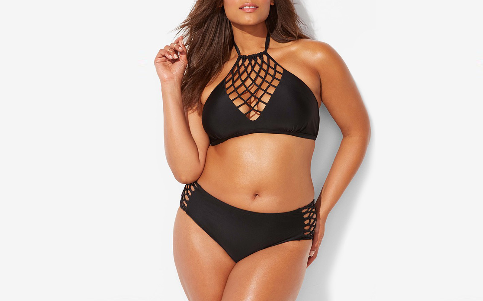 badebf60b0273 ashley graham plus size swimsuit