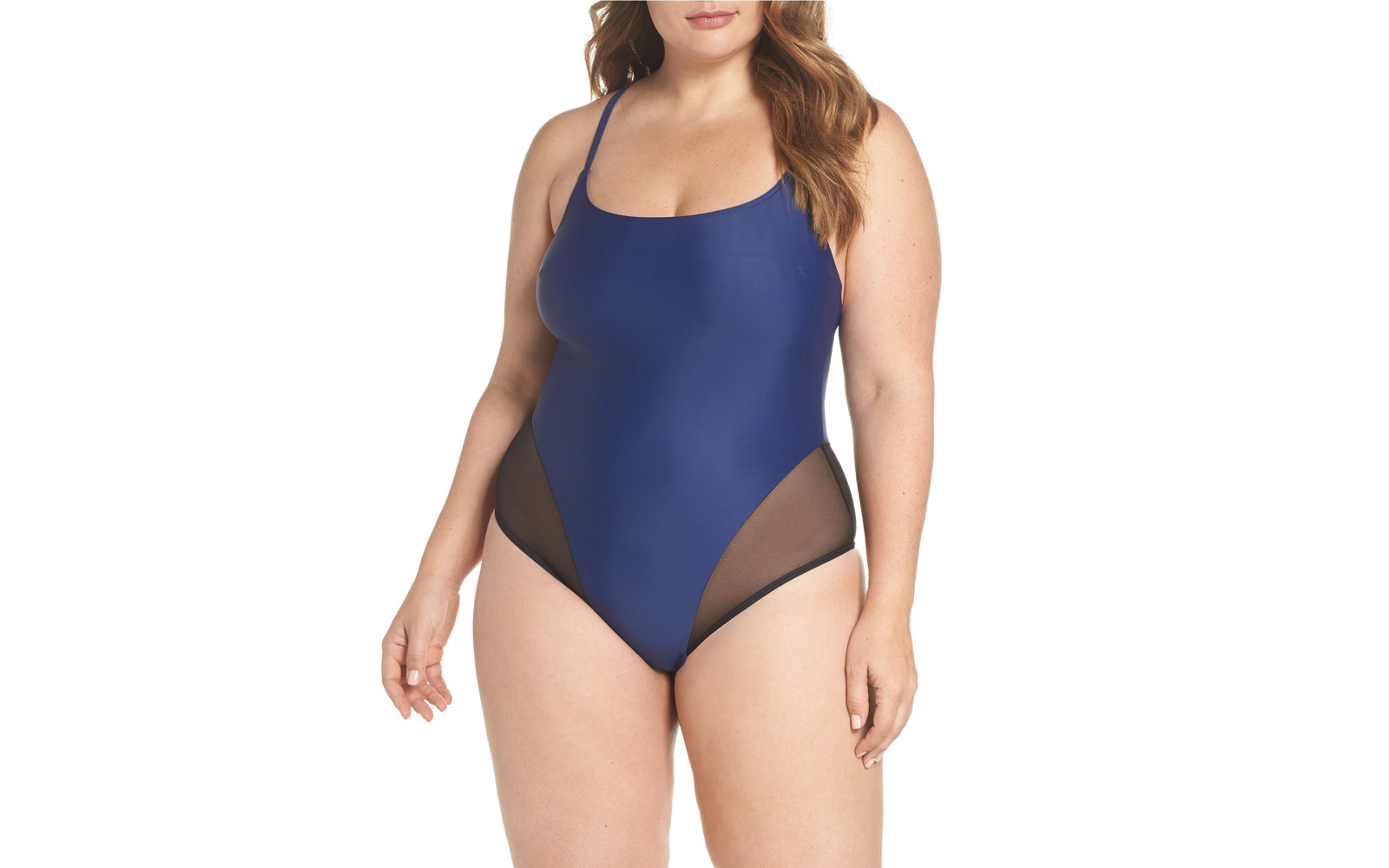 chromat plus-size swimsuit