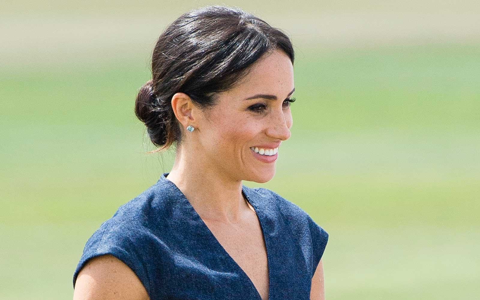 Meghan, Duchess of Sussex attends the Sentebale Polo 2018 held at the Royal County of Berkshire Polo Club on July 26, 2018