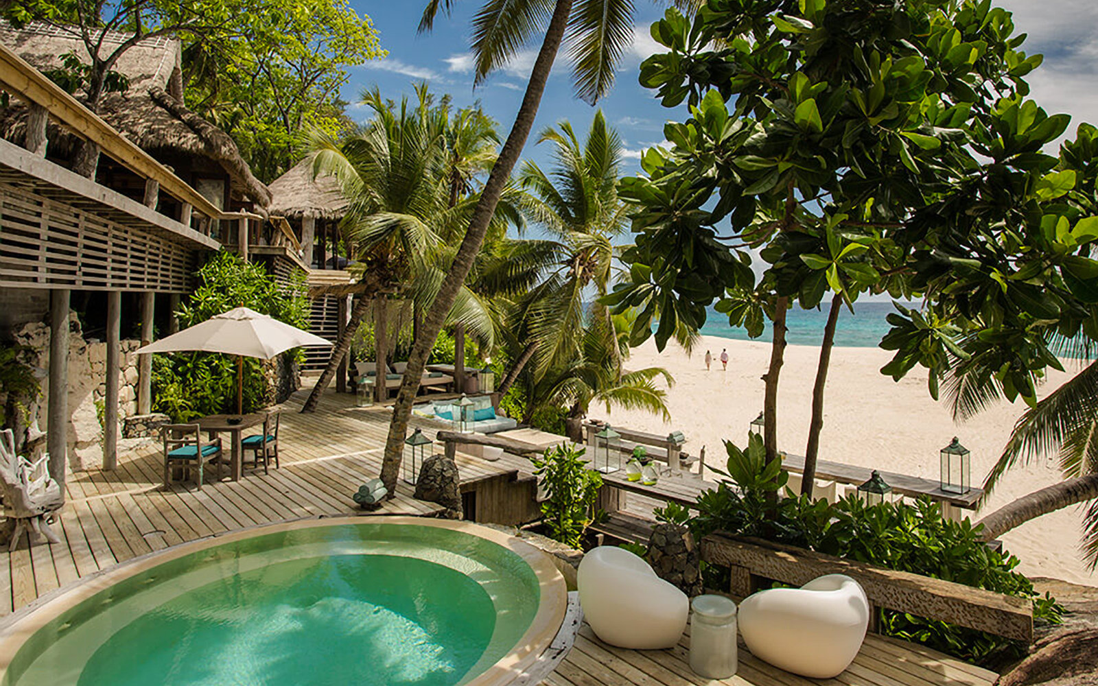 North Island resort, in the Seychelles