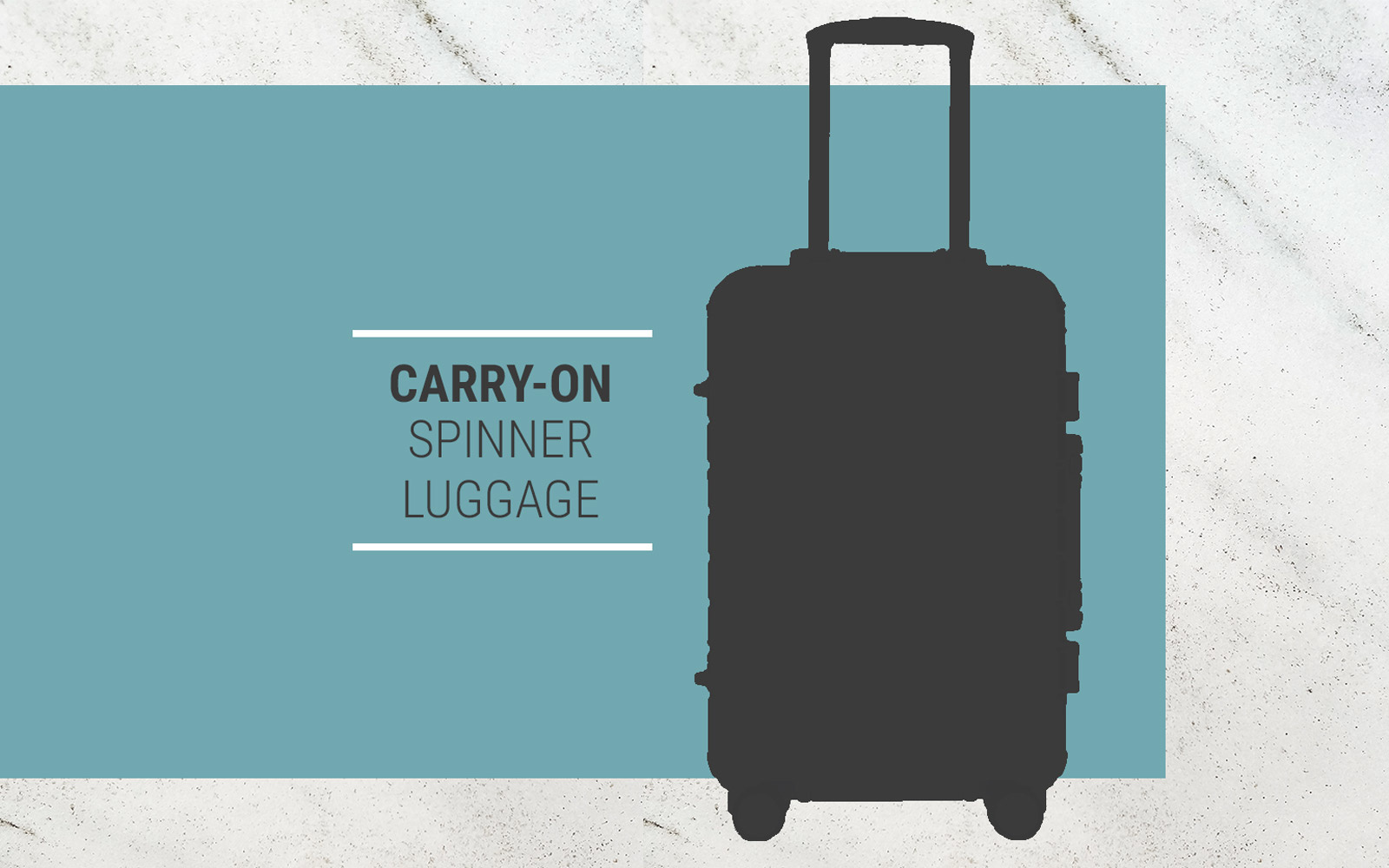 carry on spinner luggage