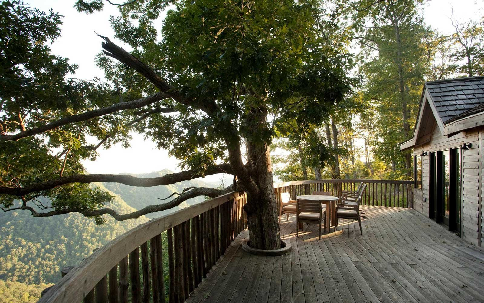 The Tree Houses at Primland, Meadows of Dan, Virginia