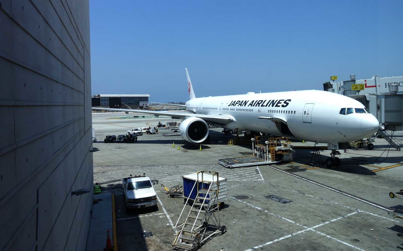 JAL First Class Experience