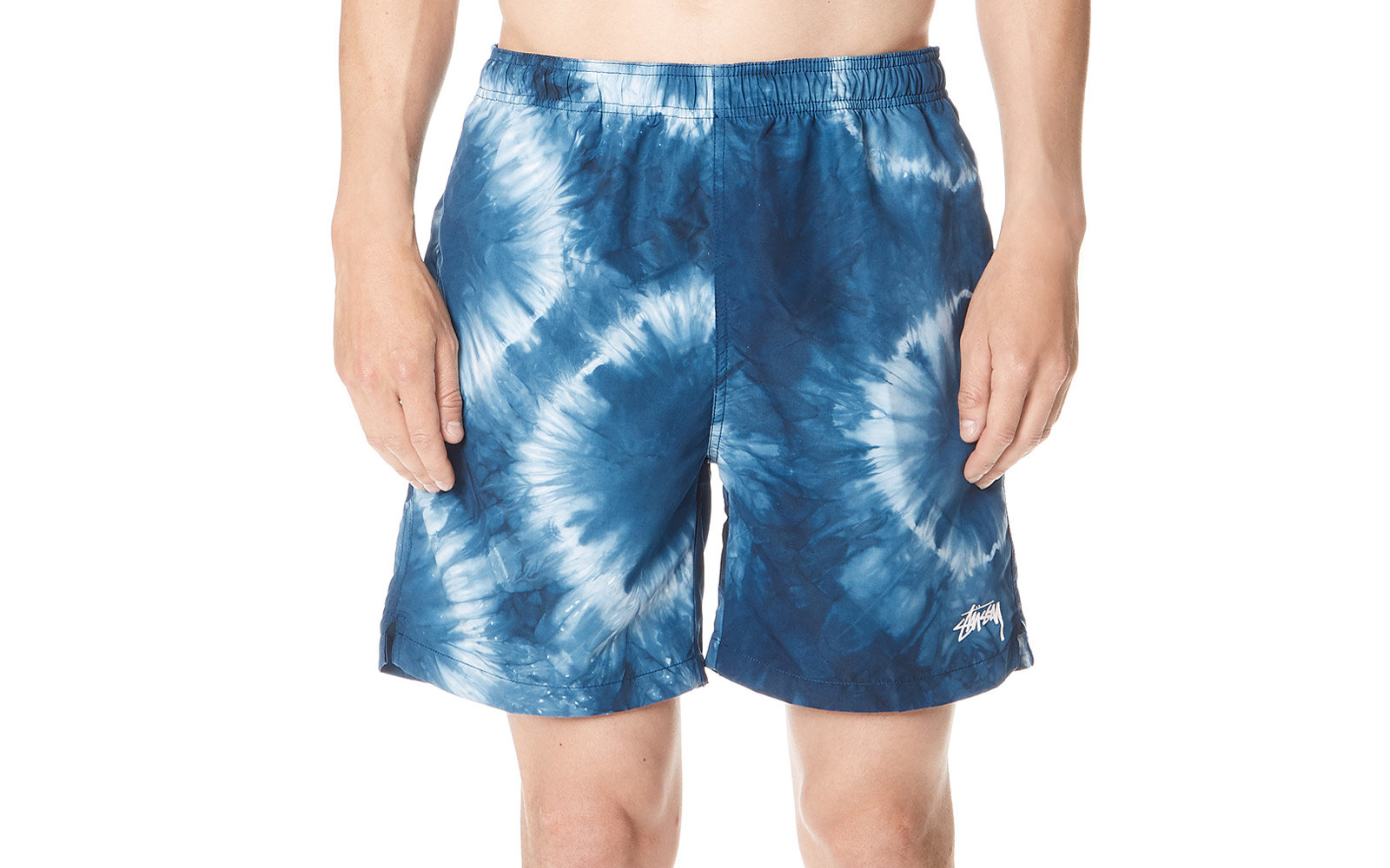 stussy mens swim trunks