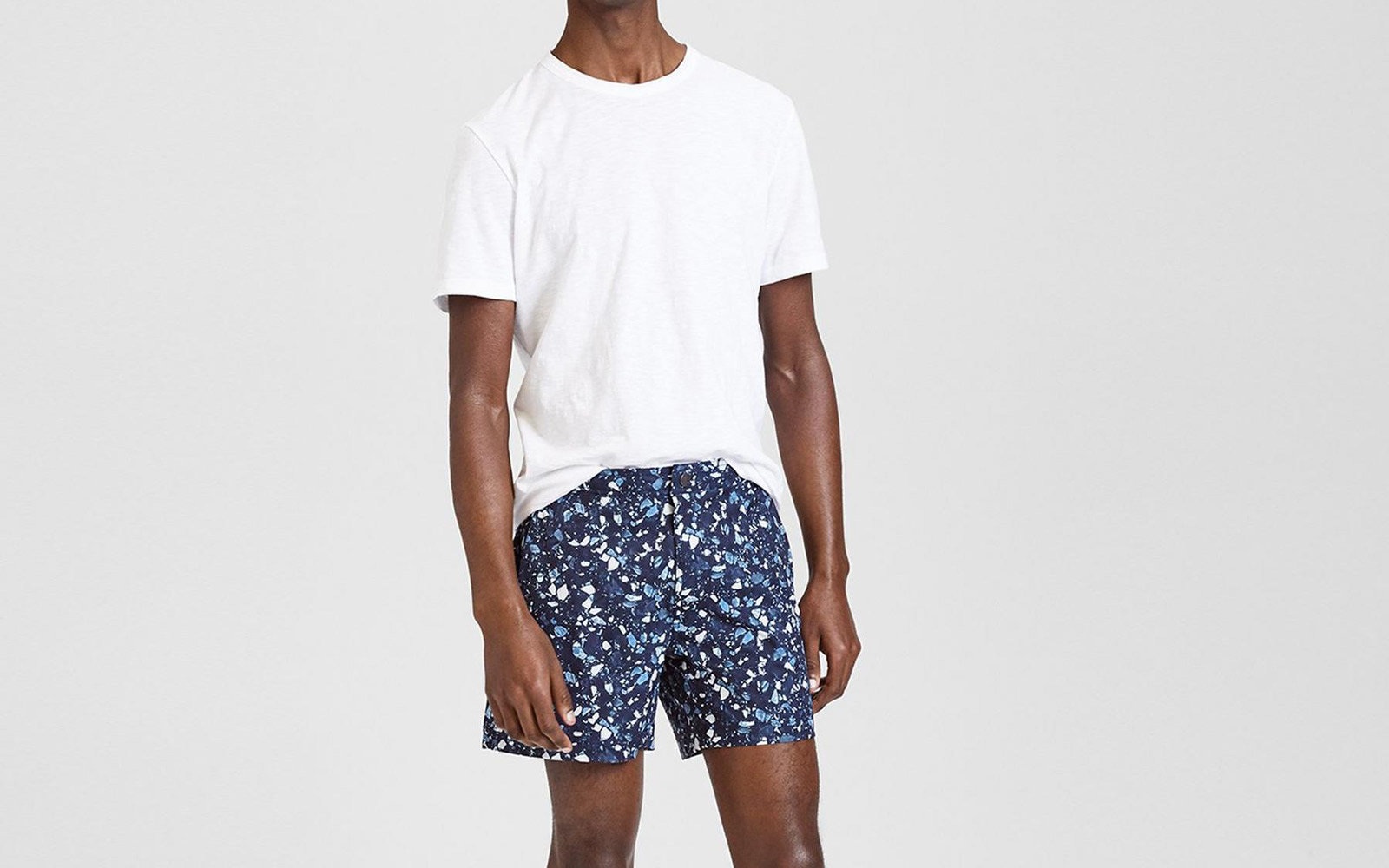 theory mens swim trunks