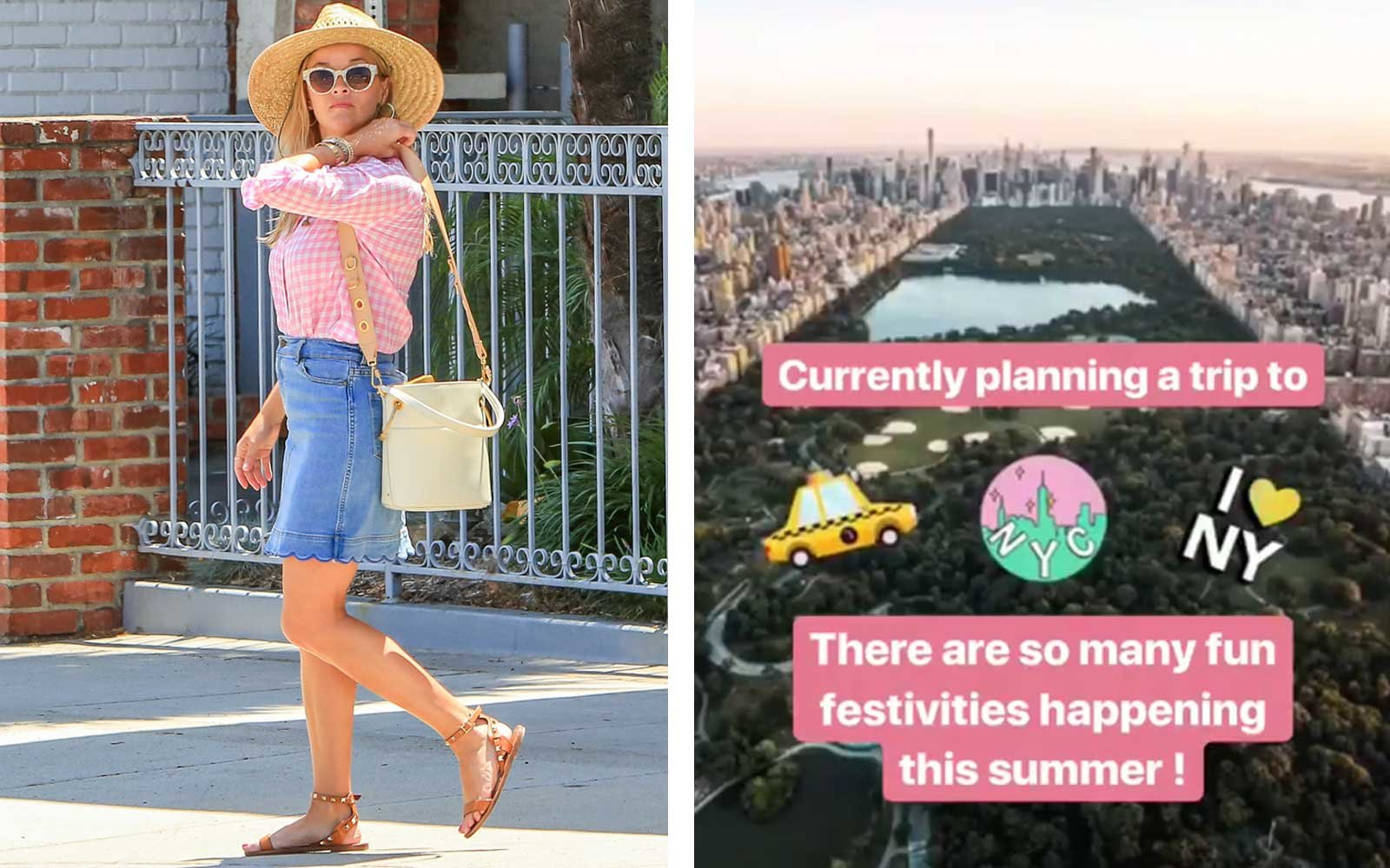Reese Witherspoon - NYC Vacation