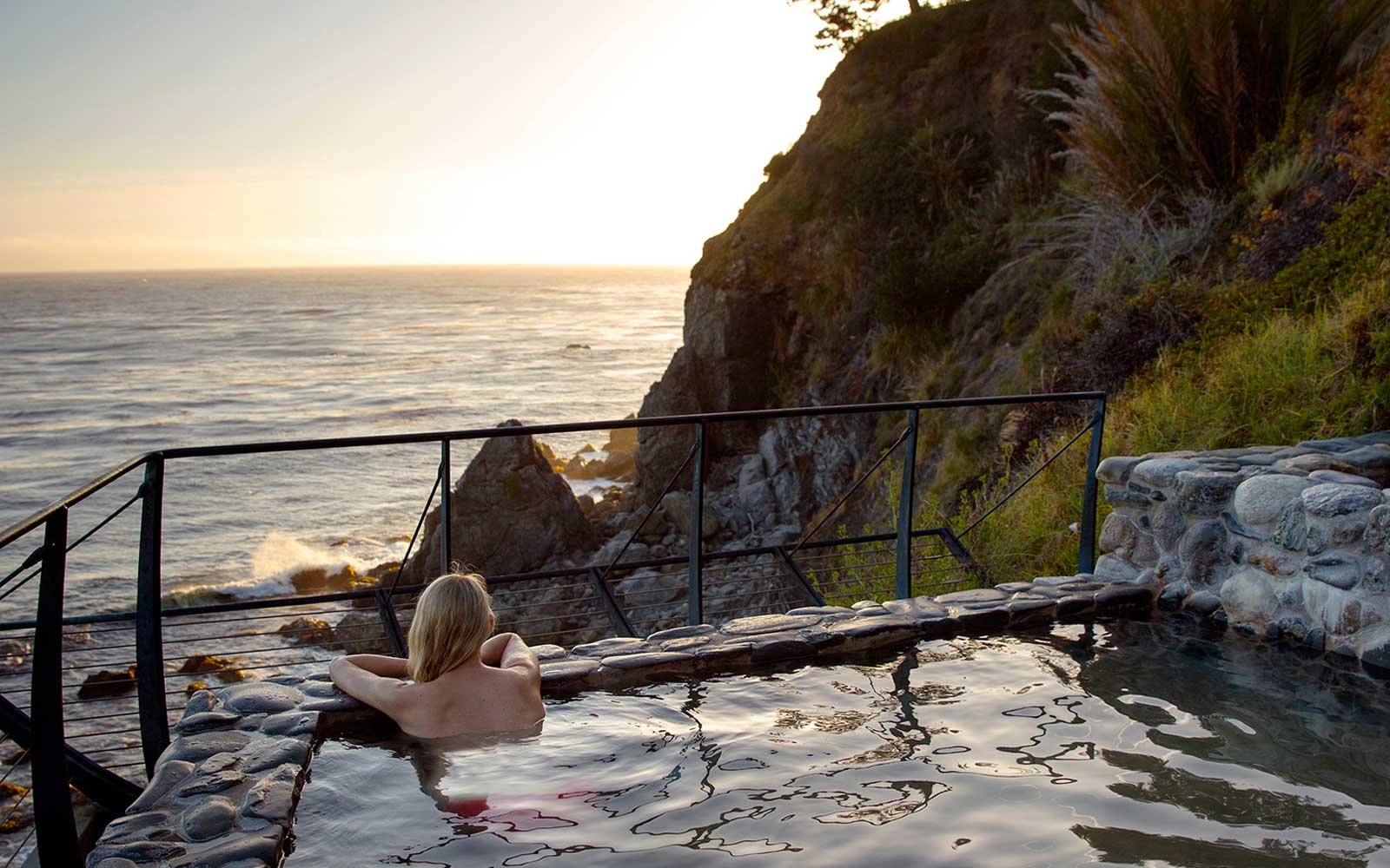 Baths at Esalen Spa in California