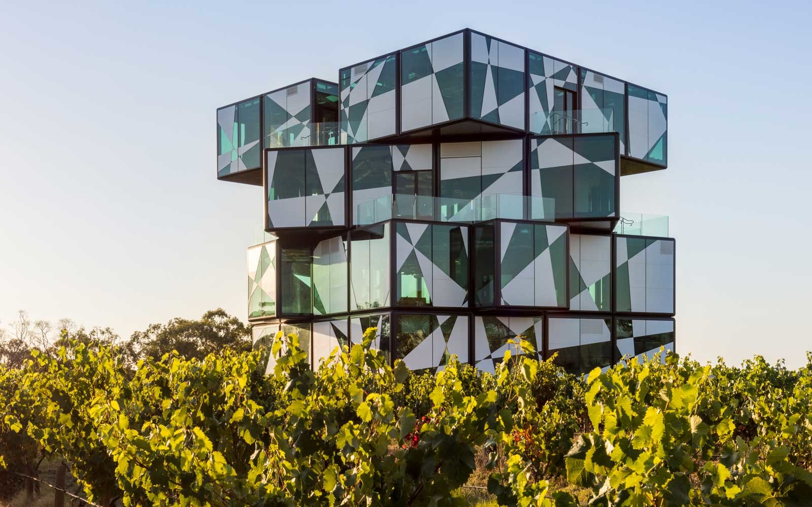 D'arenburg Winery in McLaren Vale, South Australia