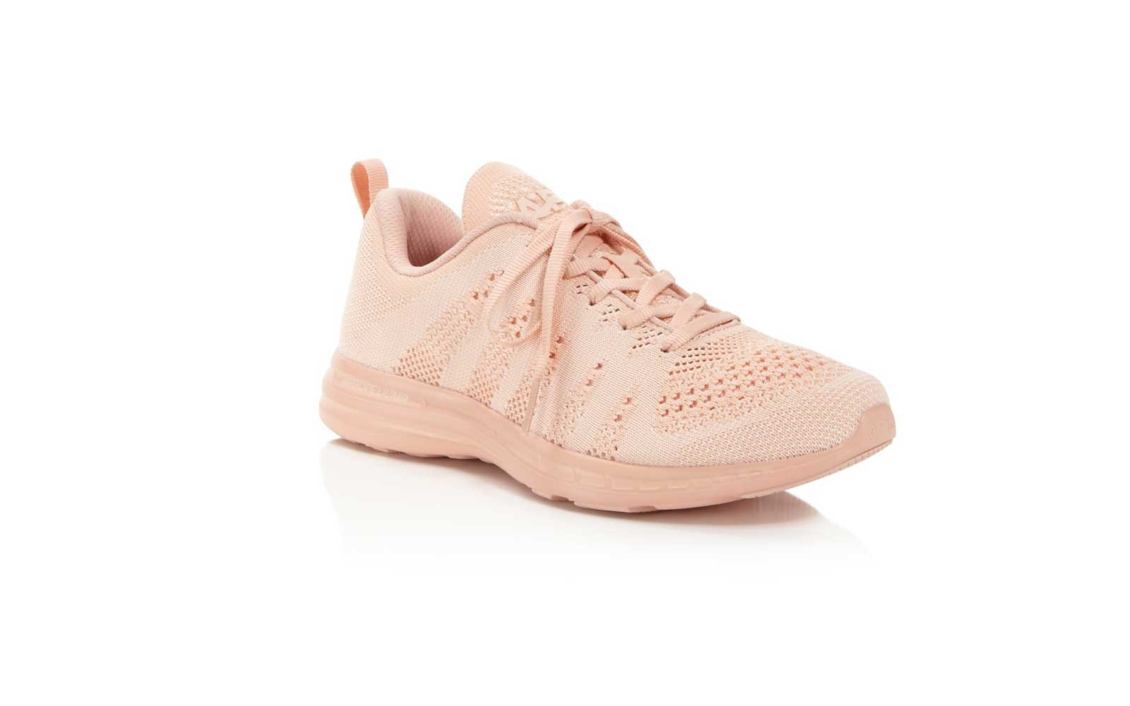 1. APL Athletic Propulsion Labs Women's TechLoom Pro Knit Lace Up Sneakers