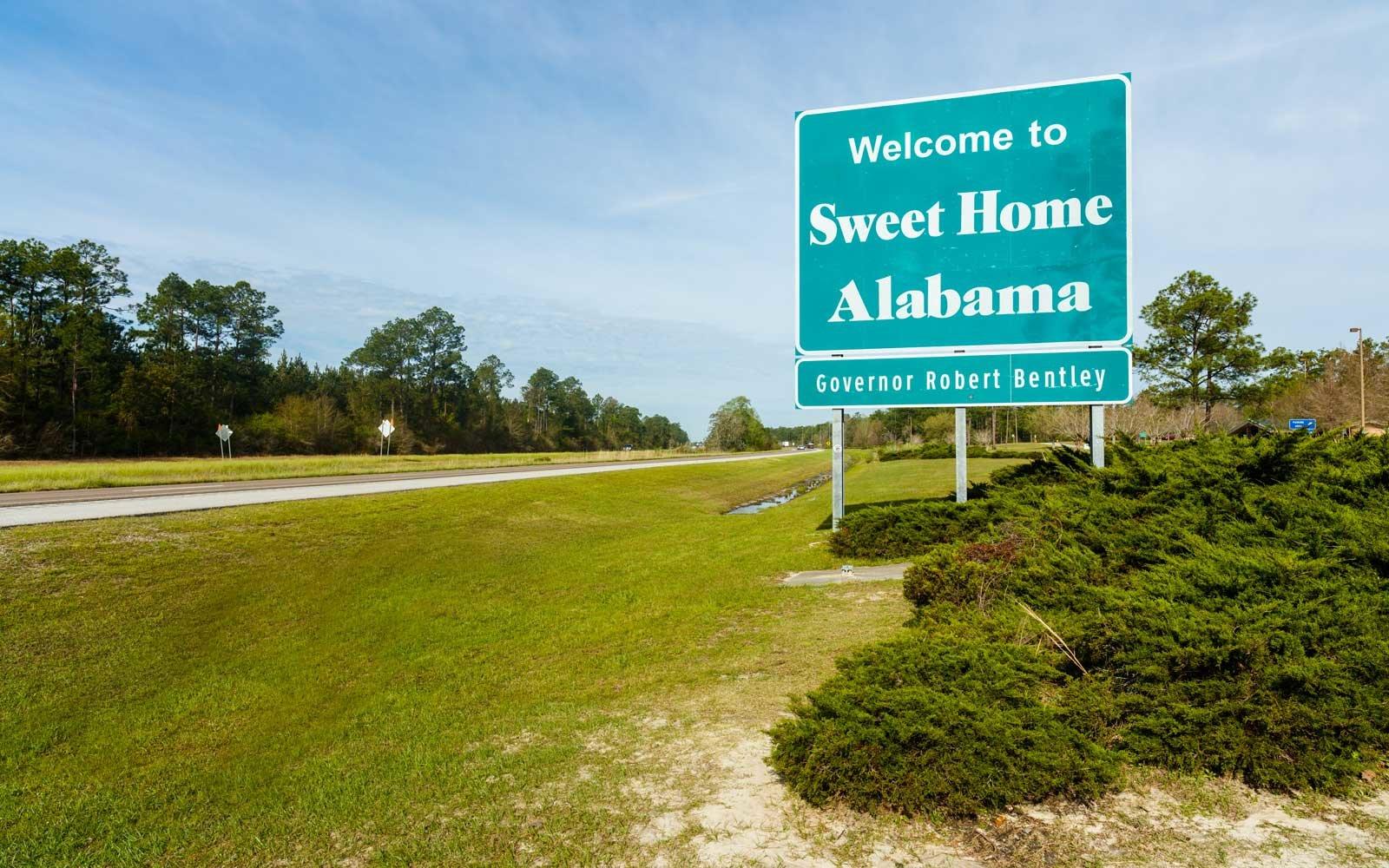 Florida Alabama State Line Signs Wiring Diagrams Metal Detector Circuit Diagram Measuringandtestcircuit These Welcome From Every Will Make You Want To Plan A Rh Travelandleisure Com And Map Towns On Coast