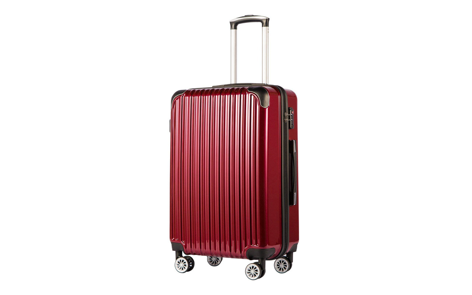 Coolife Luggage Expandable Carry-on