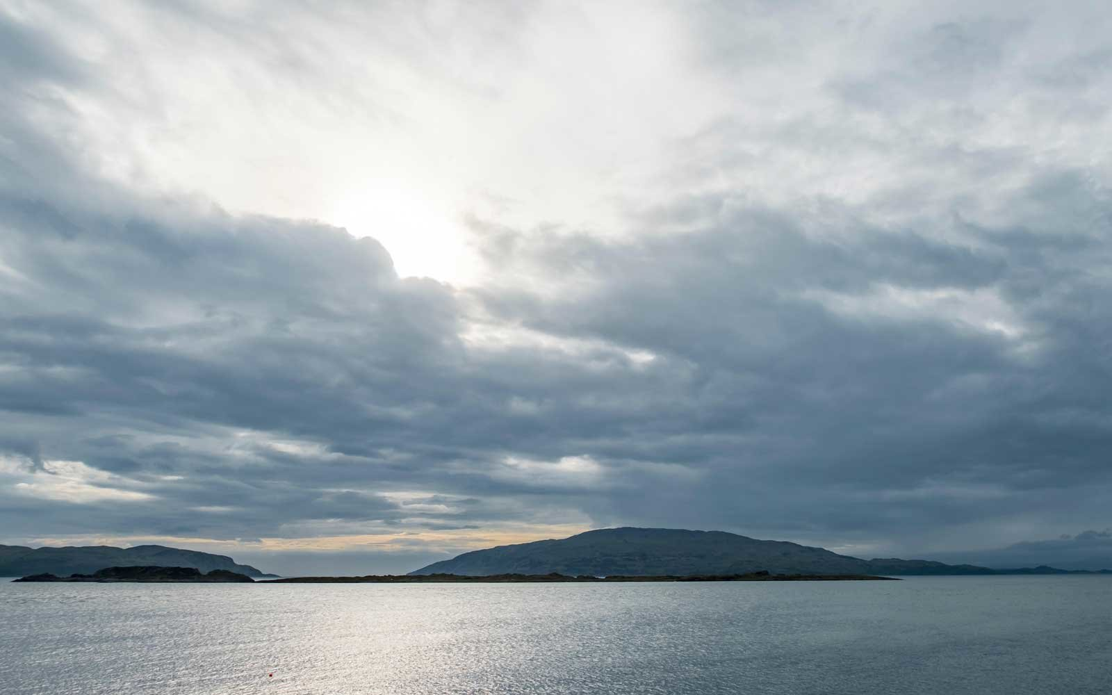 Craignish point with the Sound of Jura in the background, Scotland