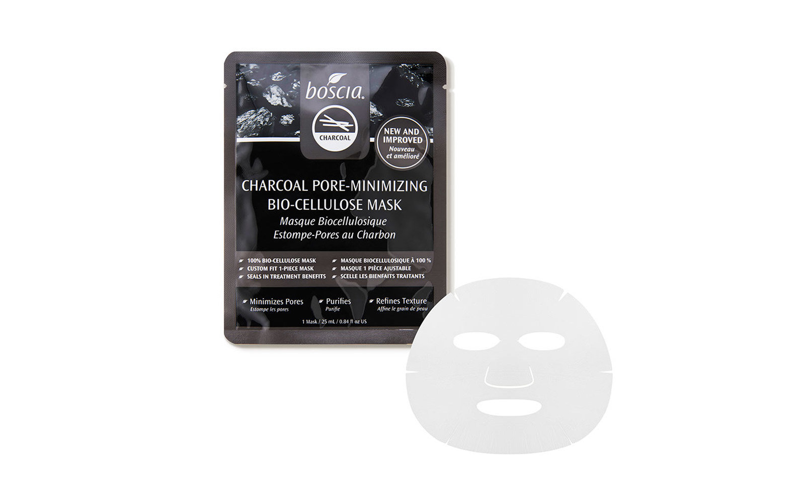 boscia charcoal sheet mask