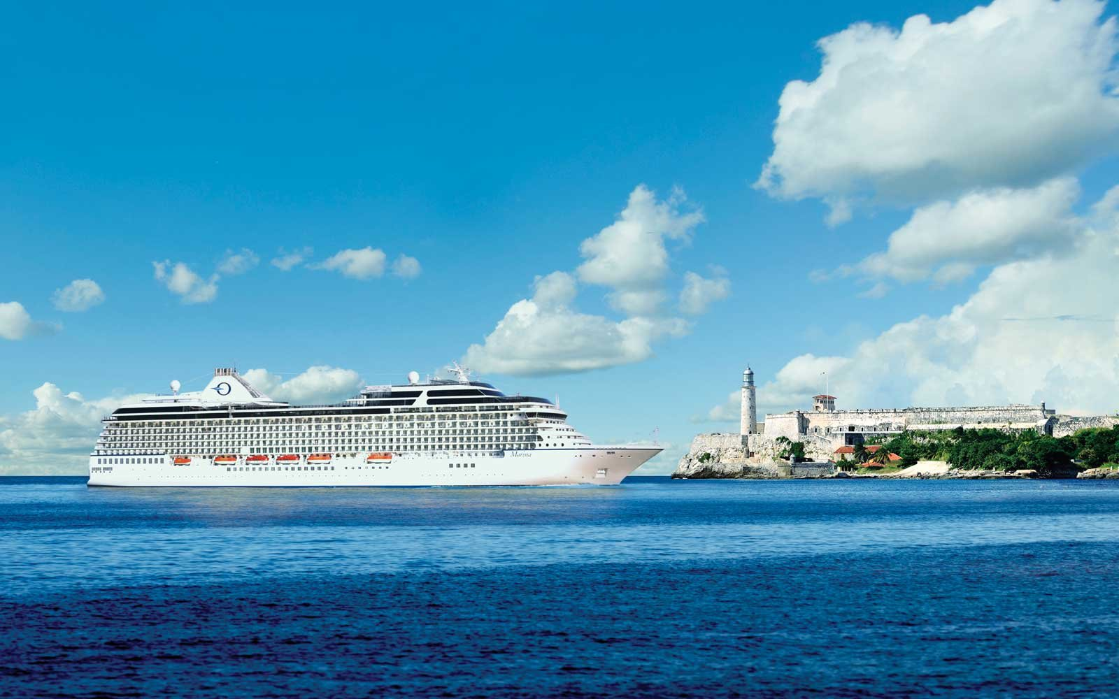 Oceania Cruises at Havana Harbor