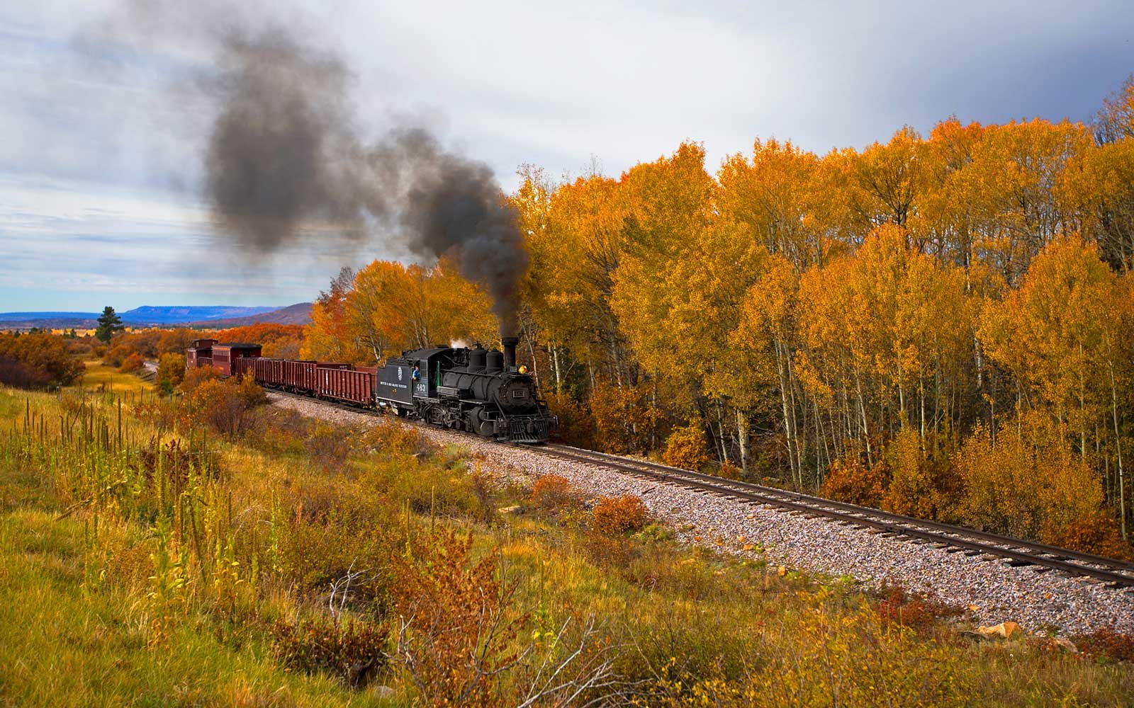 Cumbres and Toltec Scenic Railroad: New Mexico and Colorado