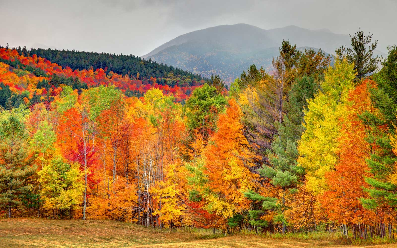Autumn in the Adirondacks region of New York