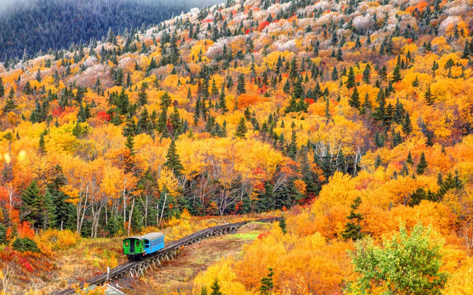 The Best Fall Foliage Train Trips to Take This Year