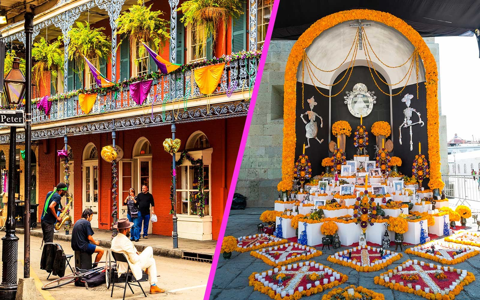 Trips for Scorpios to New Orleans and Mexico