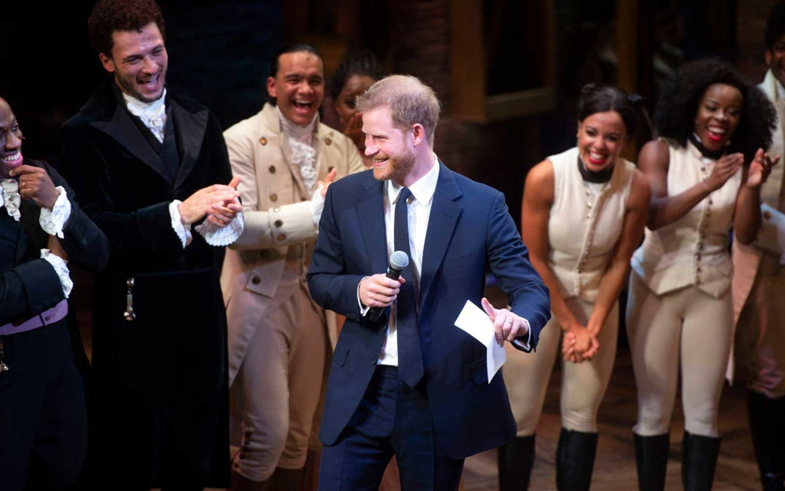 Prince Harry Sang at 'Hamilton' and Lin-Manuel Miranda Loved It (Video)