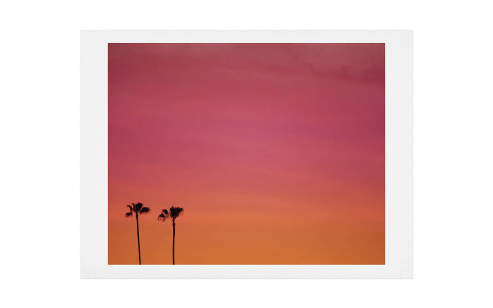 Deny Designs Catherine McDonald - Los Angeles Sunset Art Print