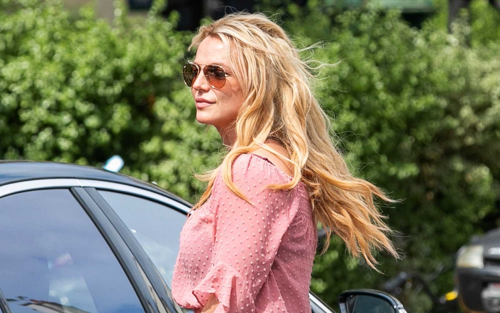 Britney Spears Spotted in Paris
