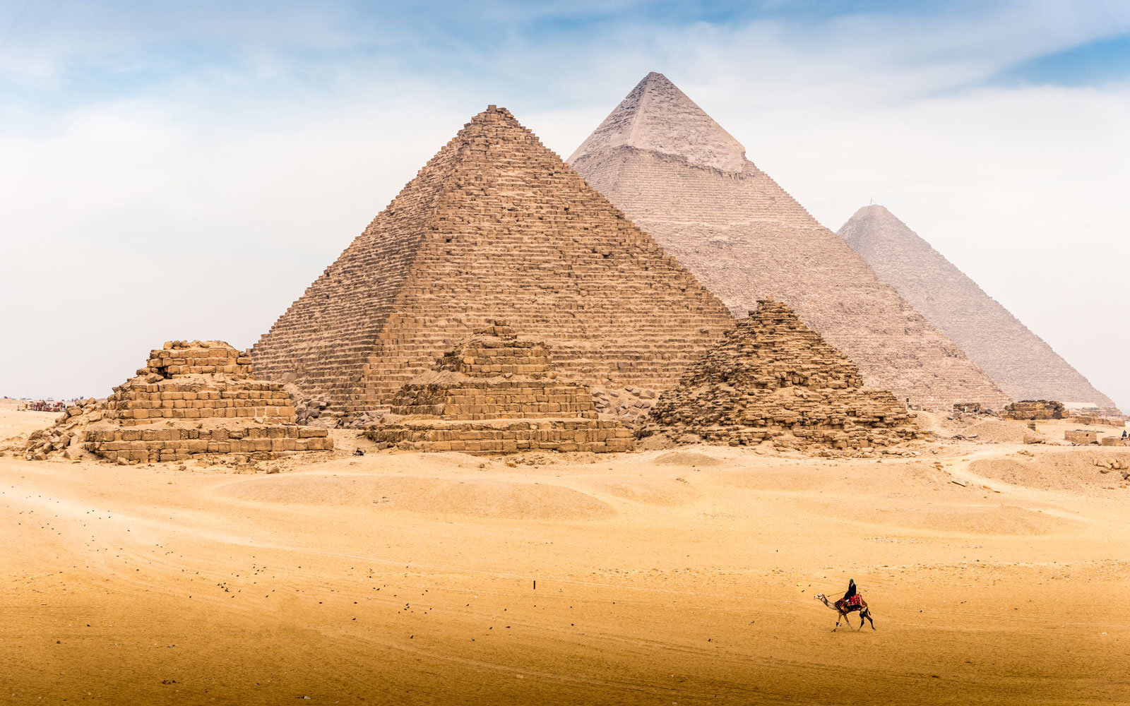 The newly discovered village predates the pyramids of Giza.