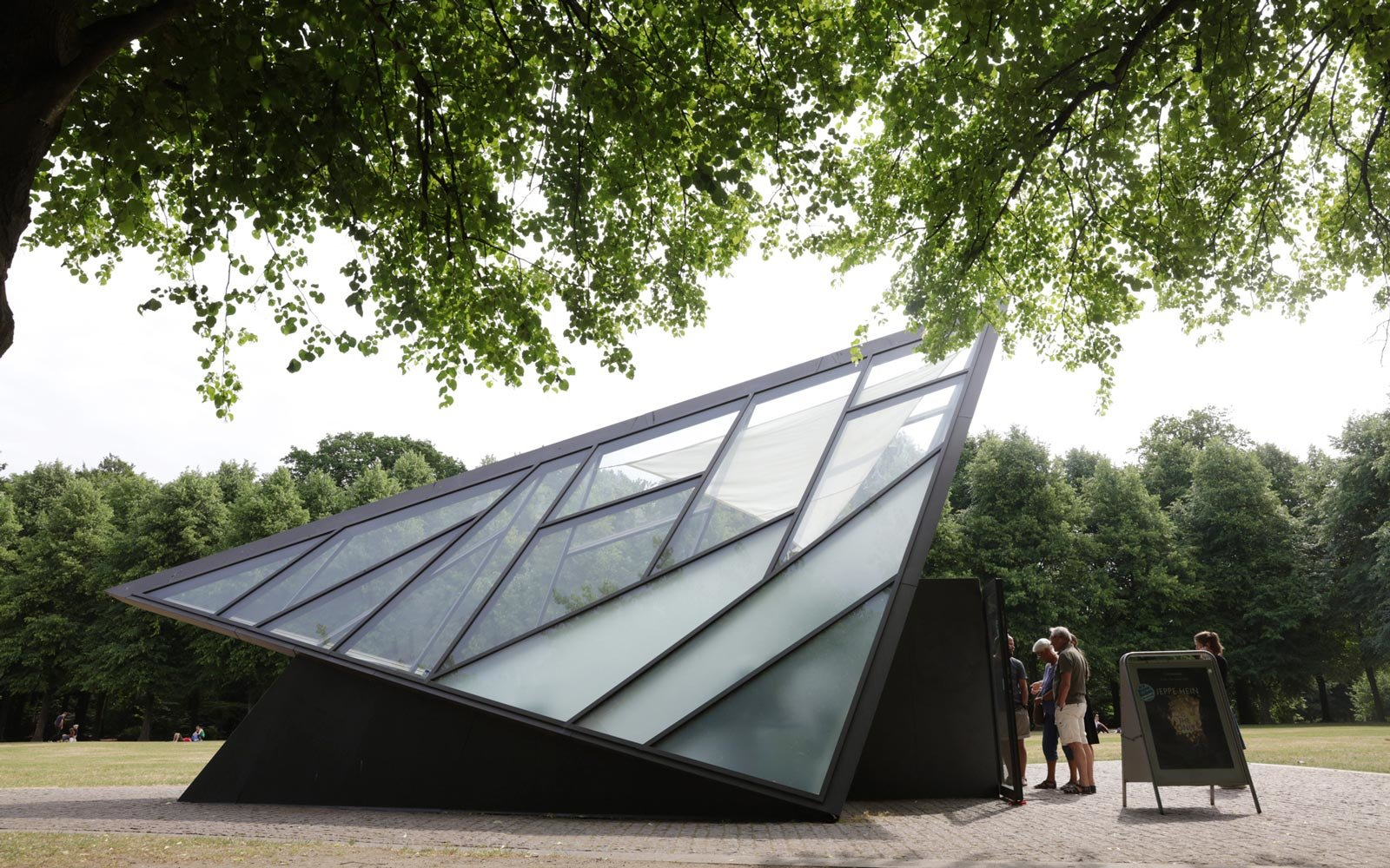 Exterior of the CIsternerne art space in Copenhagen