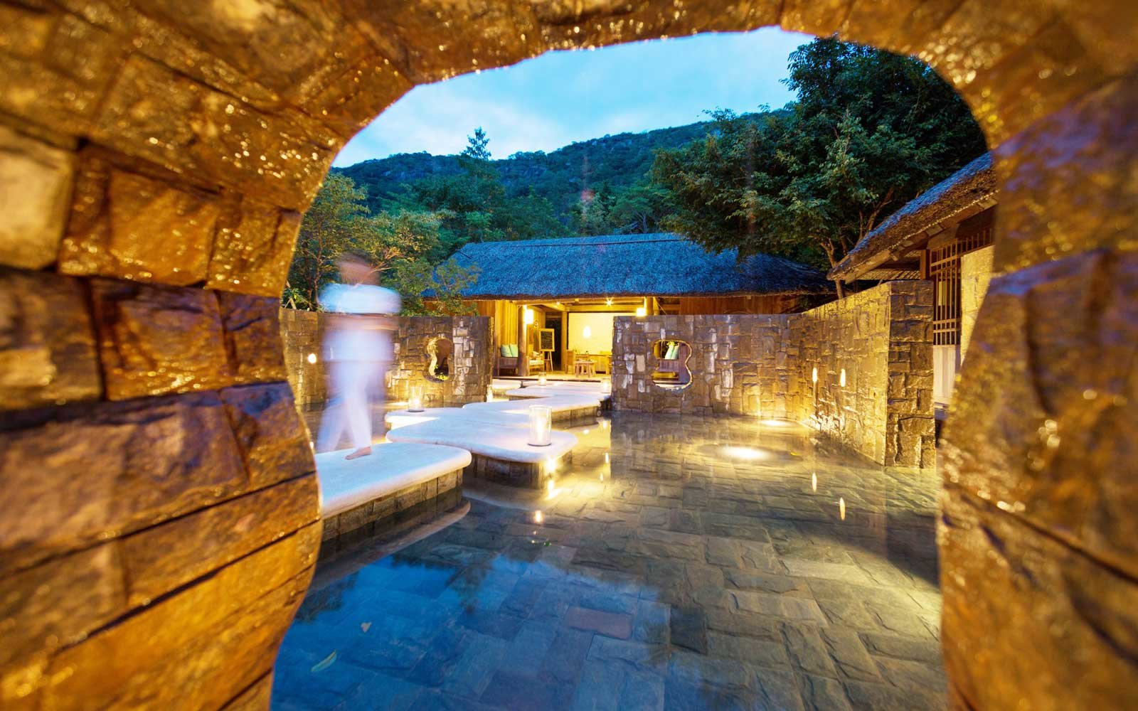Six Senses Sink Van Bay spa in Vietnam
