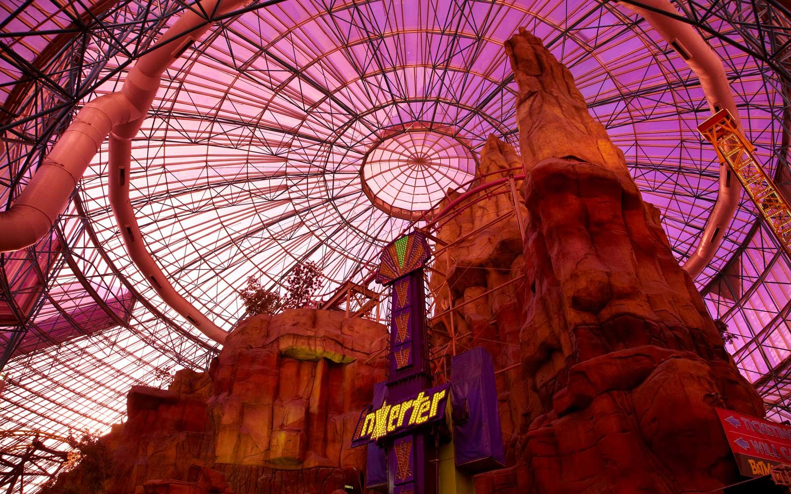 Inside Adventuredom at the Circus Circus Hotel in Las Vegas