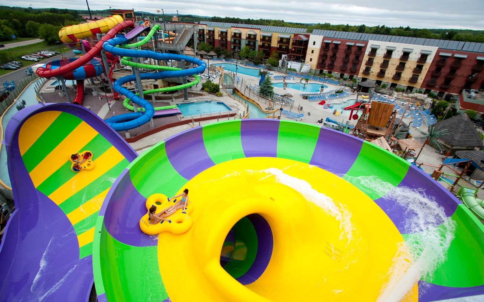 Slide at the Kalahari Resort Wisconsin Dells