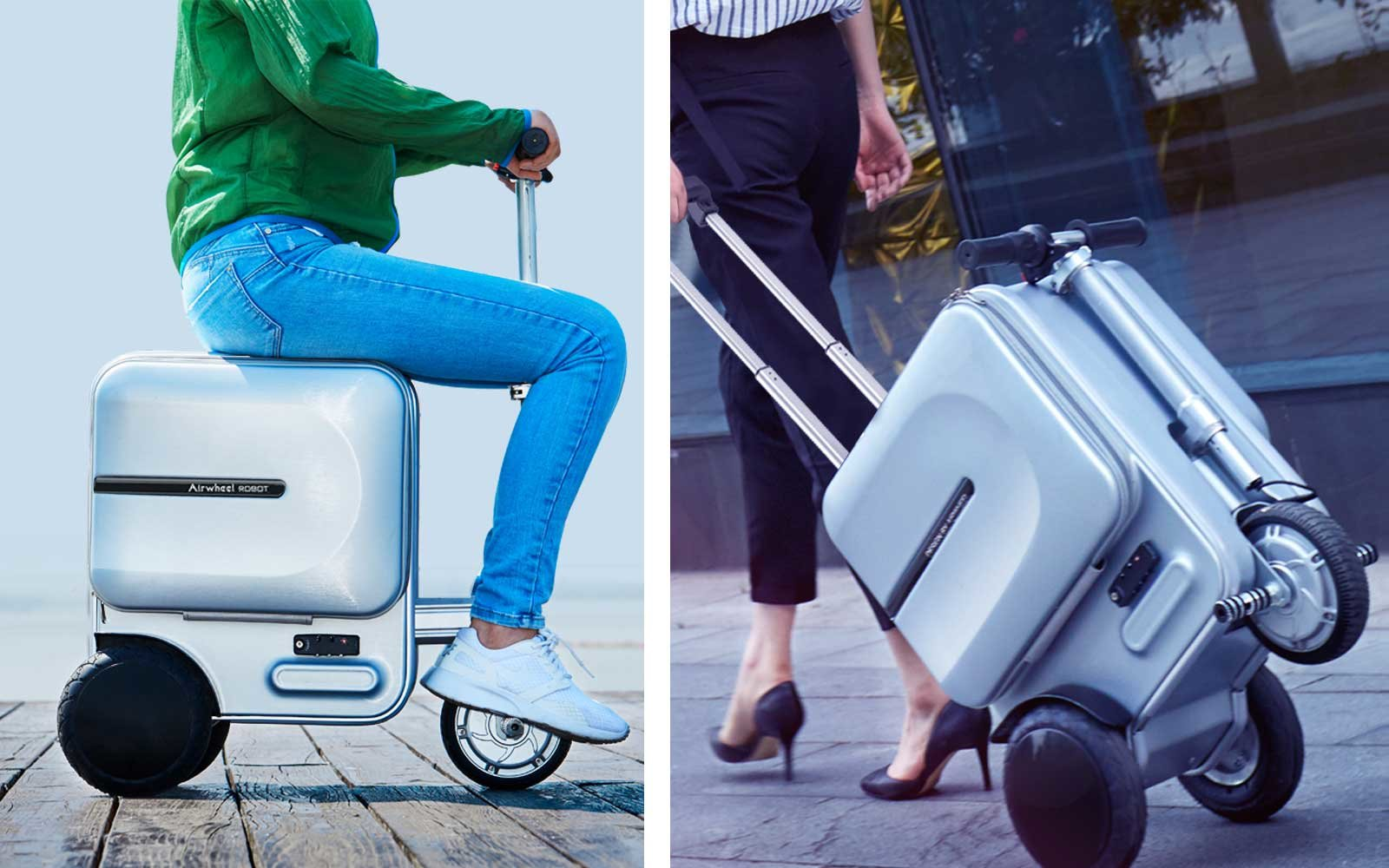 AirWheel Robot Suitcase