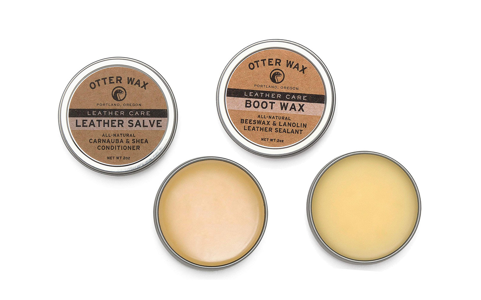 To Waterproof Your Shoes: Otter Wax Leather Salve and Boot Wax