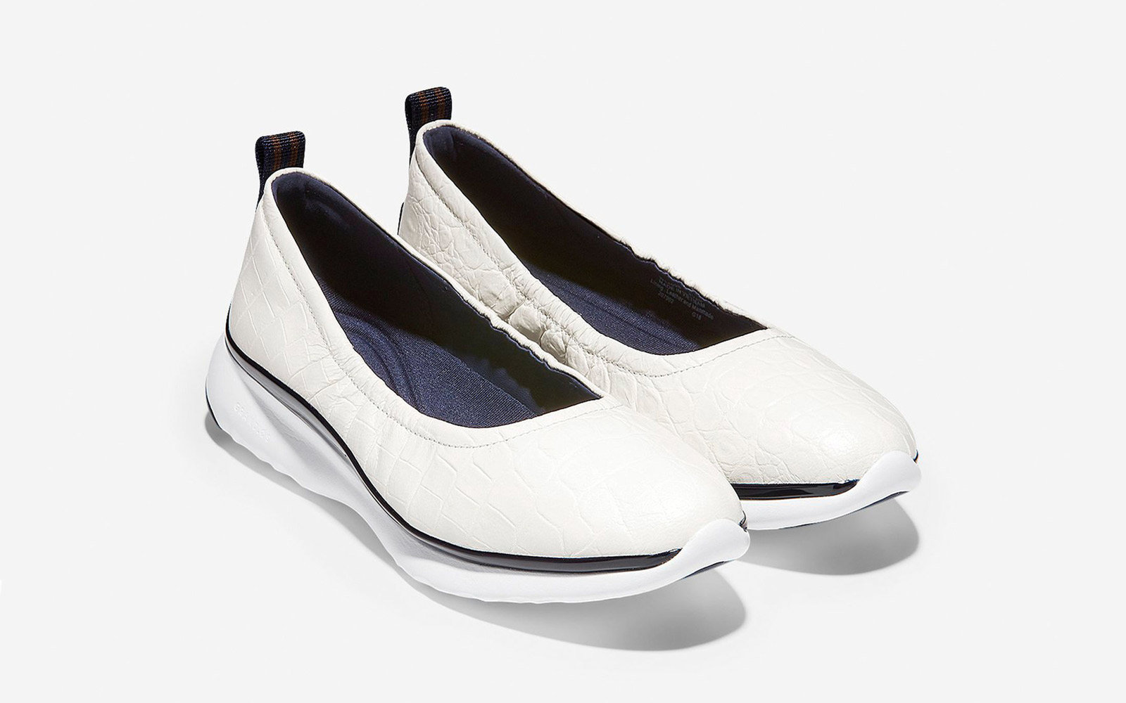 Cole Haan 3.Zerogrand Ruched Slip-on Ballet Flat