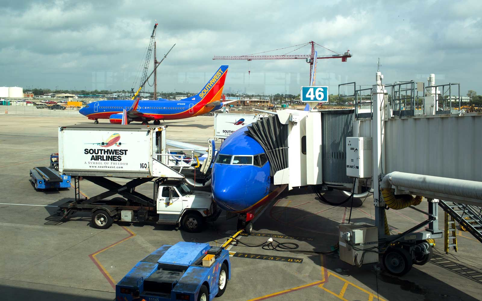 Southwest Airlines In Houston, Texas