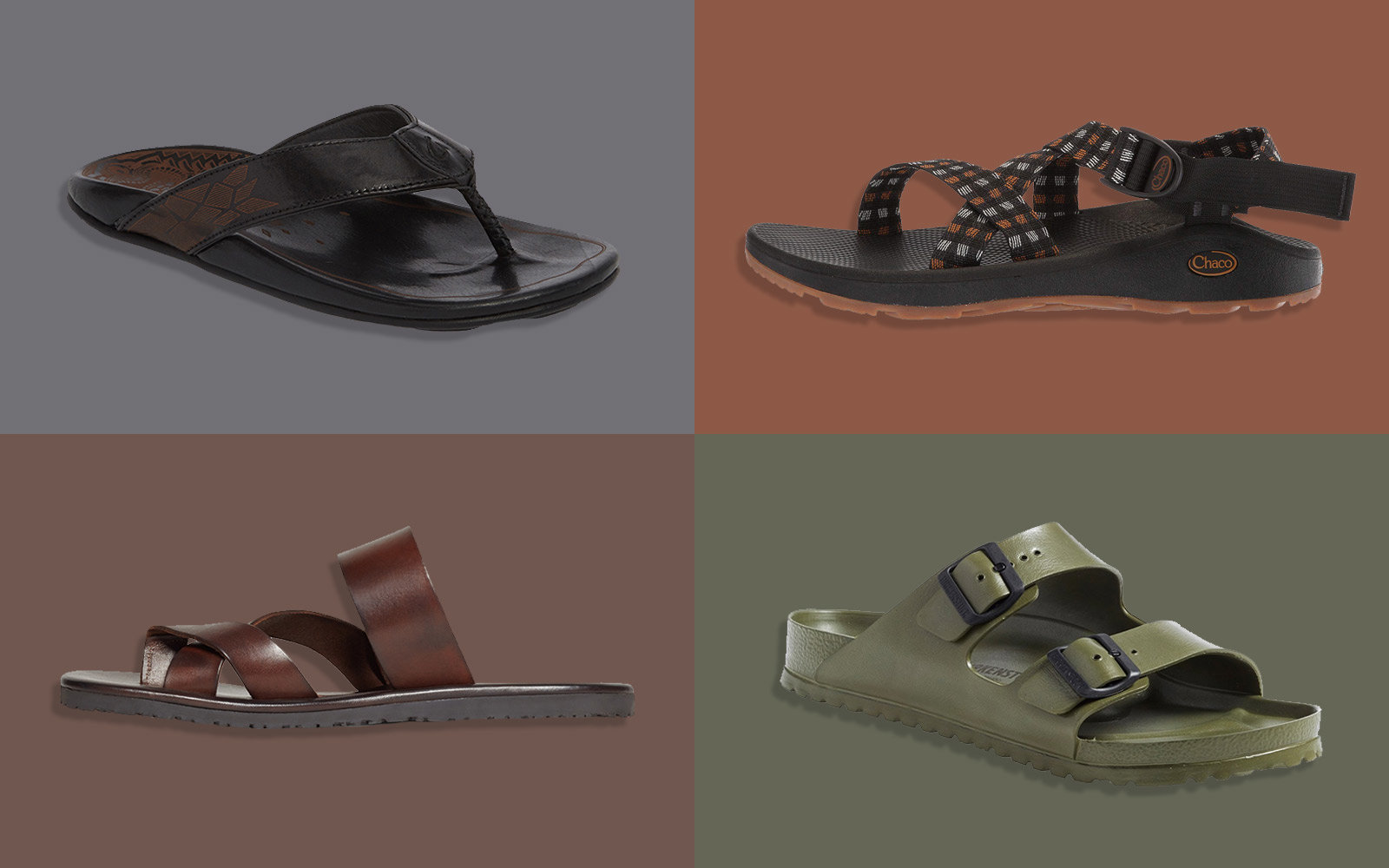 best mens sandals for travel
