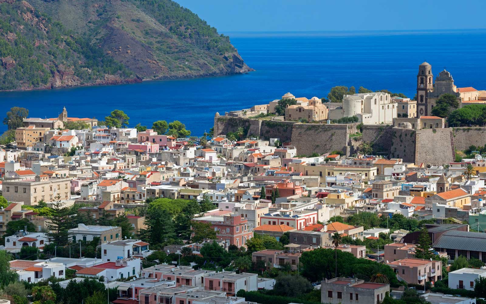 Enjoy magnificent waters and outdoor activities at Italy's Aeolian Islands.