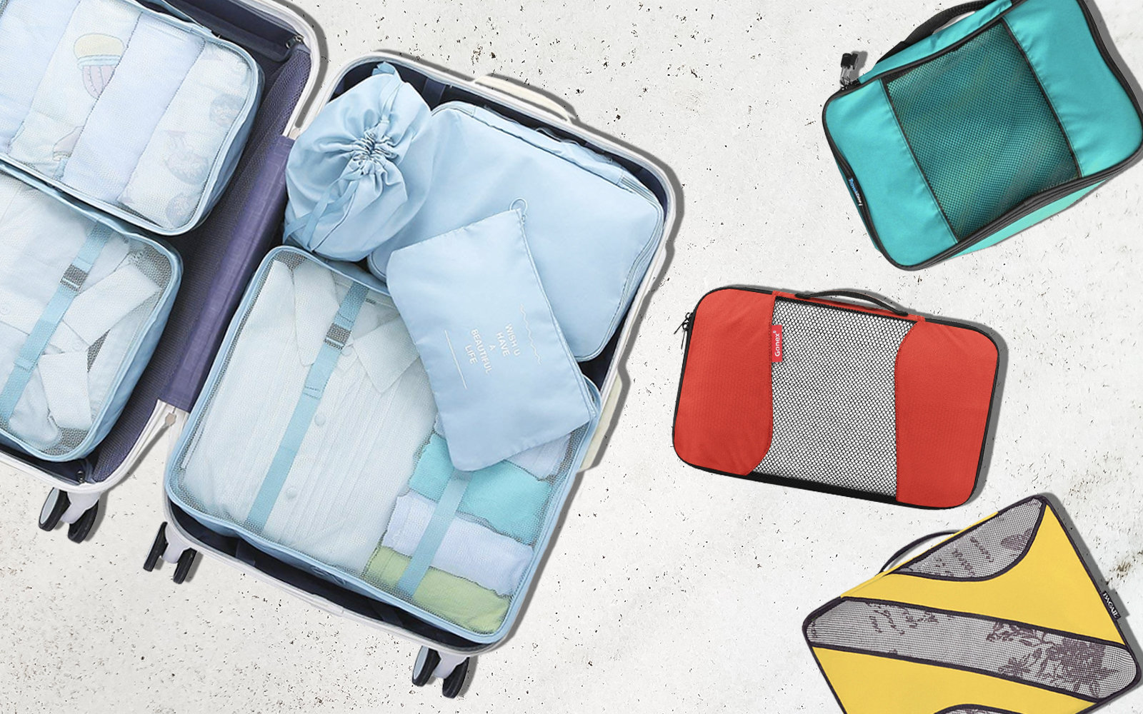 These Are the Top 5 Best-selling Travel Packing Cubes on Amazon