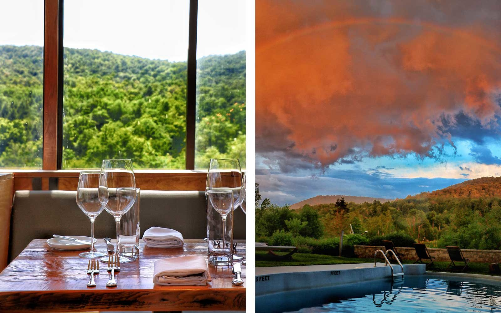 This All-glass Dining Room in the Catskill Mountains Is the Best Place to See Fall Foliage