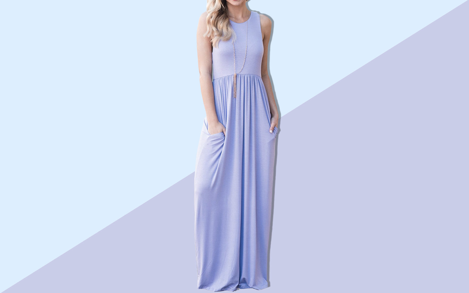 1f6a45291307 People Are Obsessed With This Super-comfy Amazon Maxi Dress That's ...