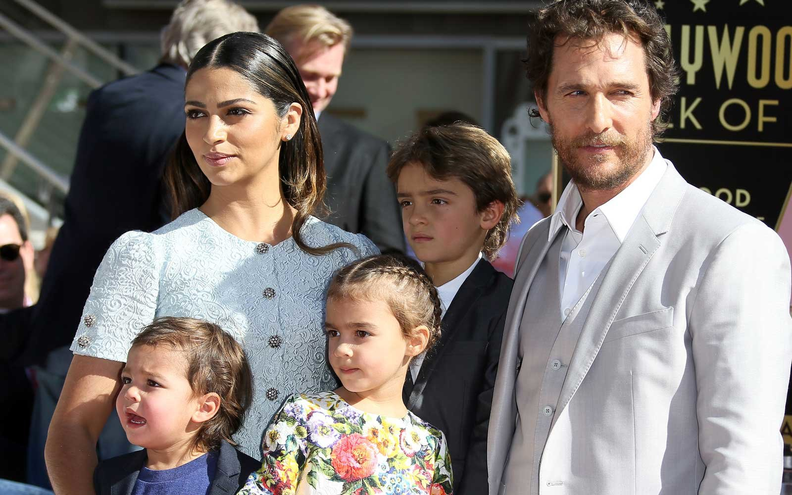 Matthew McConaughey Tossed His 6-month-old Son '15 Feet Through the Air' to Save Him From a Charging Mountain Ram