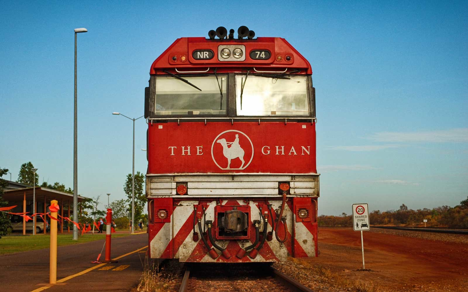 The Ghan train, Australia
