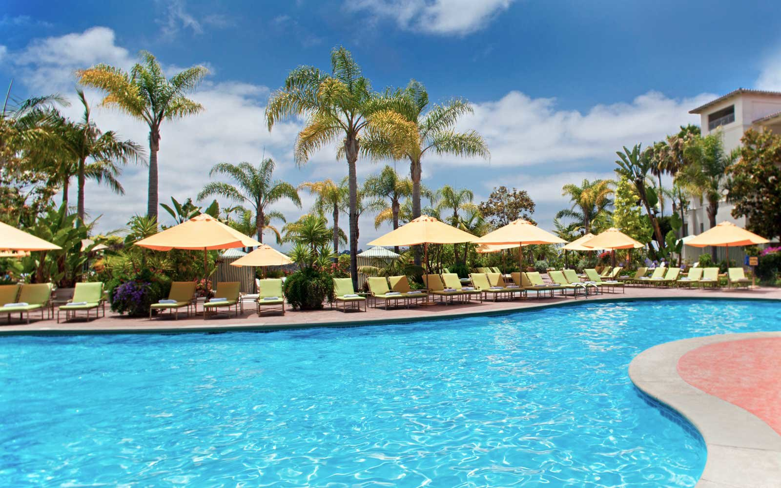 Park Hyatt Aviara pool in California