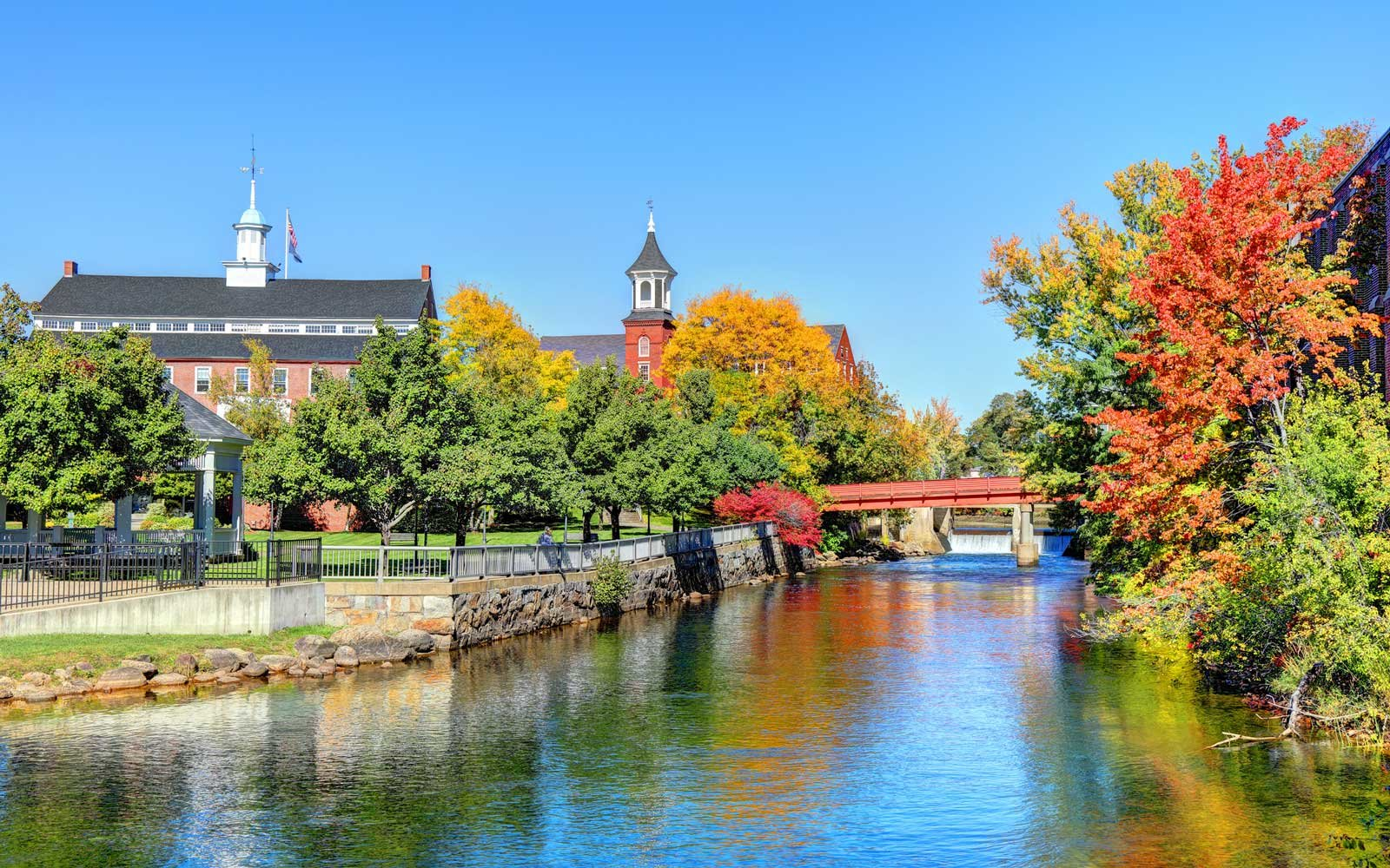 Autumn in Laconia, New Hampshire