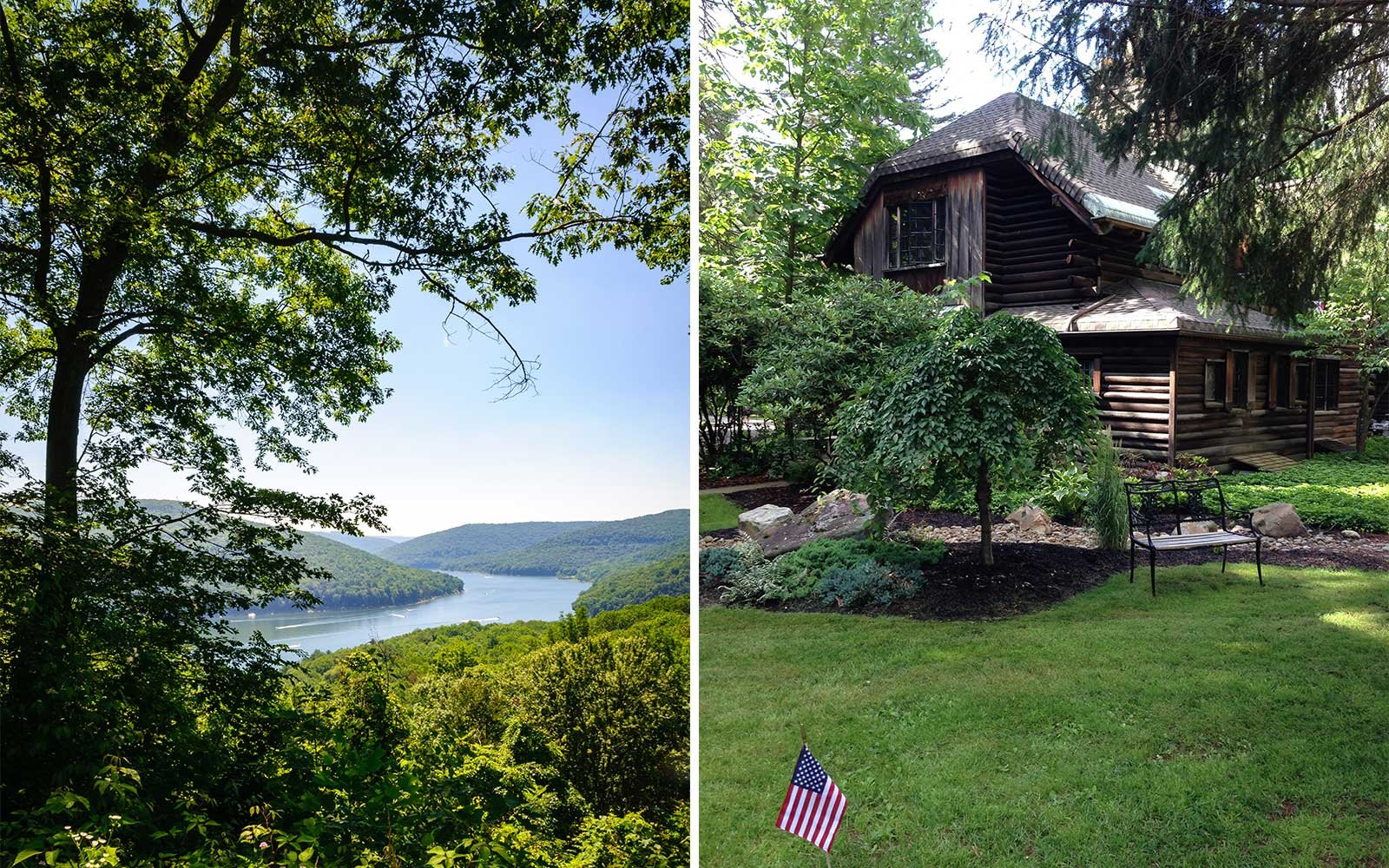 Allegheny National Forest in Pennsylvania is home to the Lodge at Glendorn