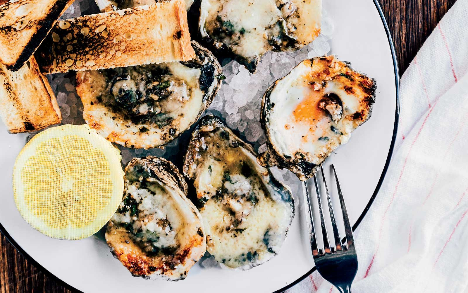 Oysters from Leon's Oyster Shop in Charleston, SC