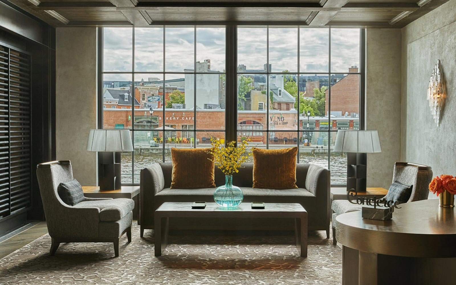 View from the Sagamore Pendry hotel in Baltimore, Maryland