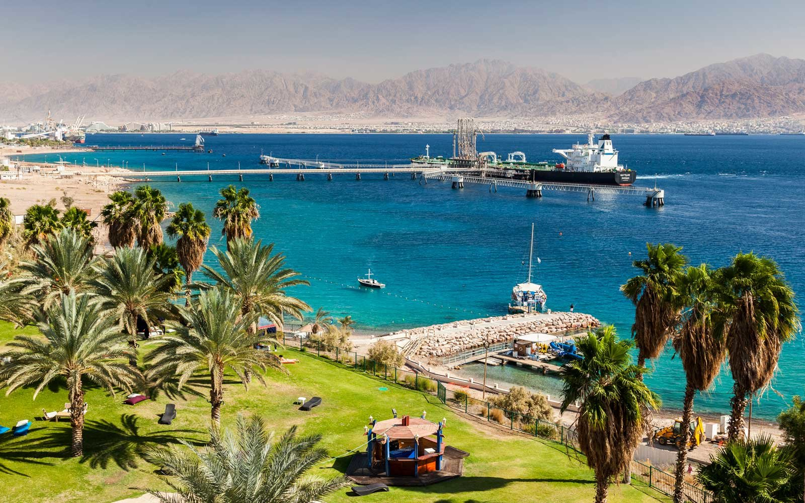 View from Eilat, Israel