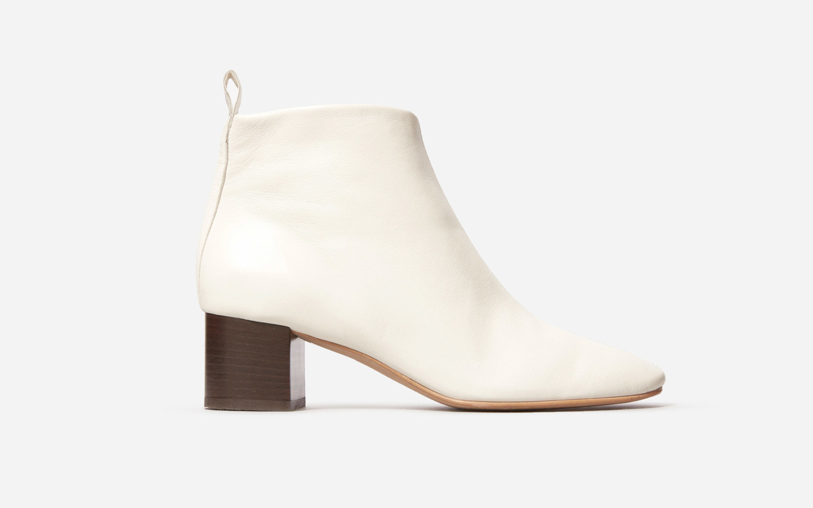 Everlane day boot in white