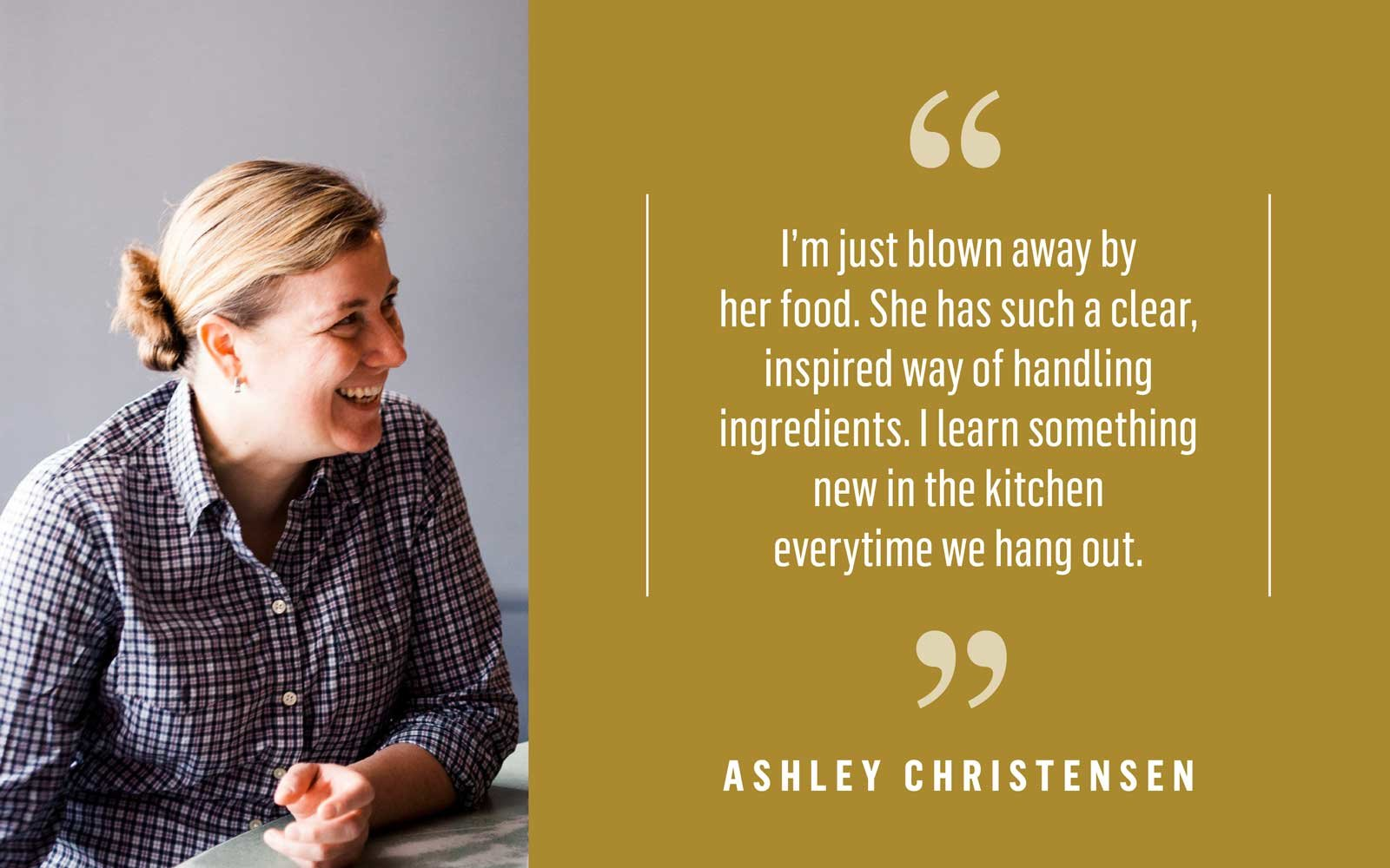 Chef Ashley Christensen